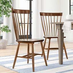 Spindle Solid Wood Windsor Back Side Chair (Set of 2) | Wayfair North America