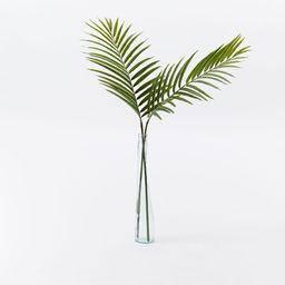 Faux Green Palm Plant Leaf Branch | West Elm (US)