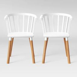 Set of 2 Balboa Barrel Back Dining Chair - Project 62™ | Target