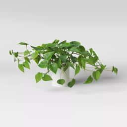 """14"""" x 28"""" Artificial Pothos Plant in Pot - Threshold™ 