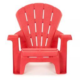 Little Tikes Garden Outdoor Portable Chair - Red   Target
