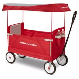 Radio Flyer 3 in 1 EZ Fold Wagon with Canopy - Red   Target