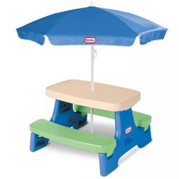 Little Tikes Easy Store Jr. Play Table with Umbrella   Target