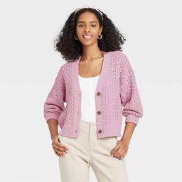 Women's Button-Front Cardigan - A New Day™   Target