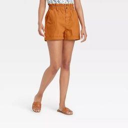 Women's High-Rise Jean Shorts - Universal Thread™ Tan   Target
