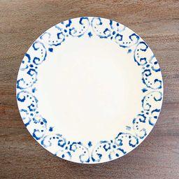 New!Blue Tuscan Scroll Dinner Plates, Set of 4   Kirkland's Home