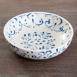 New!Blue Tuscan Scroll Bowls, Set of 4   Kirkland's Home