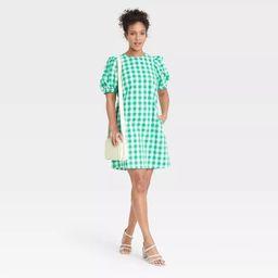 Women's Puff Short Sleeve Dress - A New Day™   Target