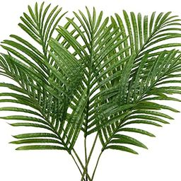 5 Pcs Fake Leaves Room Decor Areca Palm Leaves Tropical Decor Artificial Leaves for Home Party De...   Amazon (US)