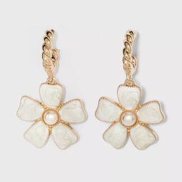 SUGARFIX by BaubleBar Flower Drop Earrings | Target