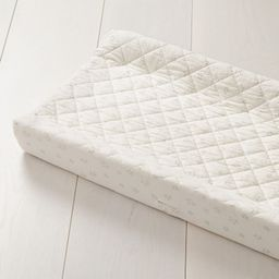 Cream Star Changing Pad Cover + Reviews | Crate and Barrel | Crate & Barrel