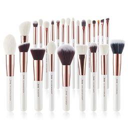 Jessup Brand 25pcs Professional Makeup Brush set Beauty Cosmetic Foundation Power Blushes eyelash...   Amazon (US)