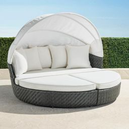 Cadence Daybed in Charcoal Finish   Frontgate   Frontgate