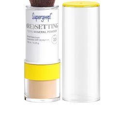 (Re)setting 100% Mineral Powder SPF 35                                          Supergoop!   Revolve Clothing (Global)