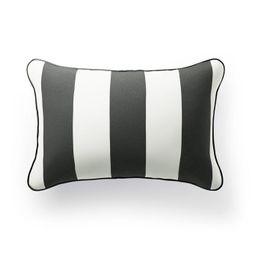 Resort Stripe Lumbar Indoor/Outdoor Pillow   Frontgate   Frontgate