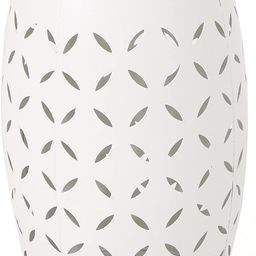 """Christopher Knight Home Lilac Outdoor 12"""" Iron Side Table, White 