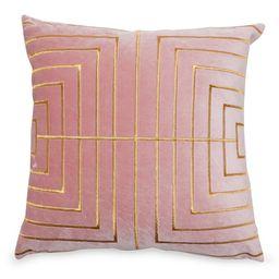 "MoDRN Glam Metallic Stitched Decorative Throw Pillow, 20"" x 20"" | Walmart (US)"