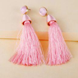 Tassel Drop Earrings   SHEIN