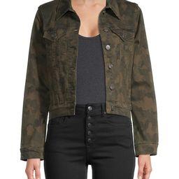 VIGOSS Women's Camouflage Denim Jacket - Camo - Size S | Saks Fifth Avenue OFF 5TH