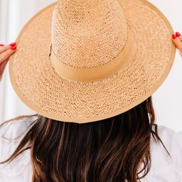 Find The Sun Tan Brown Straw Hat | The Mint Julep Boutique
