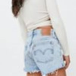 Levi's 501 High-Waisted Denim Short – Waveline   Urban Outfitters (US and RoW)