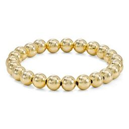 AQUA Beaded Stretch Bracelet in 18K Gold-Plated Sterling Silver or Sterling Silver - 100% Exclusi... | Bloomingdale's (US)