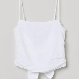 Linen Camisole Top   H&M (US)