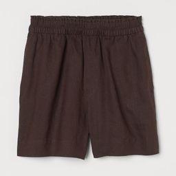 Linen Shorts | H&M (US)