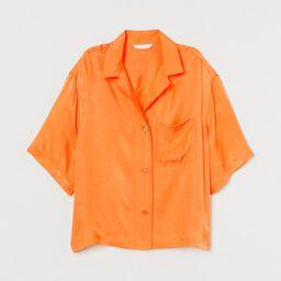 Voluminous Resort Shirt | H&M (US)