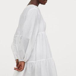 Poplin Beach Dress   H&M (US)