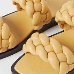 Braided Slides   H&M (US)