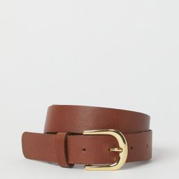 Leather Belt   H&M (US)