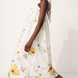 Linen-blend Dress   H&M (US)