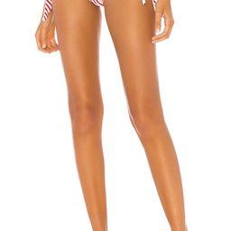 superdown Clari Bikini Bottom in Red Stripe from Revolve.com | Revolve Clothing (Global)