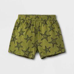 Grayson Mini Baby Boys' Starfish Top & Shorts Set - Green   Target