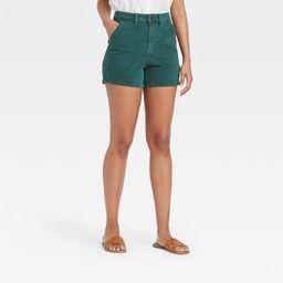 Women's High-Rise Carpenter Shorts - Universal Thread™ | Target