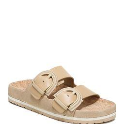 Glyn Dual Buckle Slide Sandals | Neiman Marcus