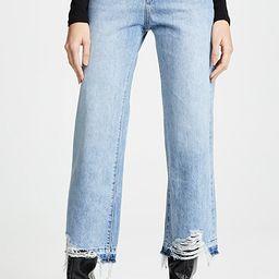Hepburn High Rise Wide Leg Jeans   Shopbop
