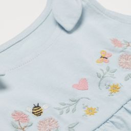 Embroidery-detail Dress   H&M (US)