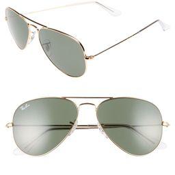 Small Original 55mm Aviator Sunglasses | Nordstrom