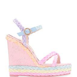 Sophia Webster Ines Pastel Wedge Espadrille Sandals | Neiman Marcus