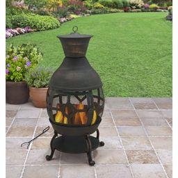 Better Homes and Gardens Cast Iron Chiminea, Antique Bronze | Walmart (US)