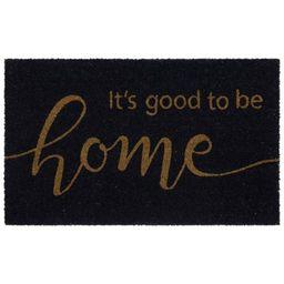 Mainstays It's Good to be Home Coir Outdoor Doormat, Navy, 18' x 30' | Walmart (US)