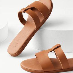 Modern Slide Sandals   LOFT   LOFT