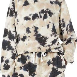 The Drop Women's Caroline Raglan Long-Sleeve Fleece Sweatshirt   Amazon (US)