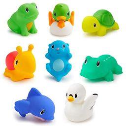 Munchkin Lake Squirts Bath Toy, 8 Pack   Amazon (US)