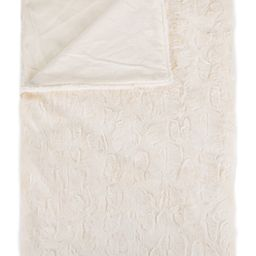 """LUXE Reno Off-White Faux Fur Throw- 50"""" x 60"""" at Nordstrom Rack   Nordstrom Rack"""