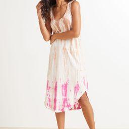 Reverie Scoop Tie Dye Dress   Evereve