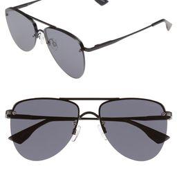 The Prince 57mm Aviator Sunglasses | Nordstrom
