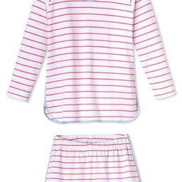 Pima Long-Short Set in Sorbet | LAKE Pajamas
